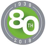 Scientific Control Laboratories Eightieth Anniversary Logo
